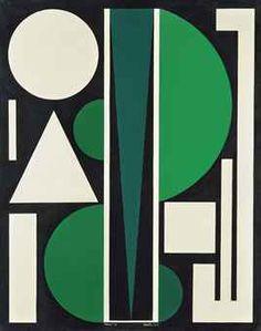 'Non 3' (1952) by Auguste Herbin