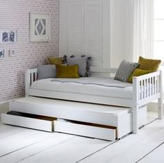 Purchase a Flexa Nordic Day Bed at Room To Grow. We offer price match availability on the Flexa Nordic Day Bed & free delivery available Bedroom Furniture Beds, Bed Storage, Furniture, Cabin Bed, Bed Design, Trundle Bed With Storage, Under Bed Storage, Daybed With Trundle, Bed With Drawers