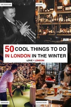 Fun activities to do in London when it's too cold to be outside. Classes and workshops to do, tours that are winter-proof, indoor sports and activities and more ideas for what to do in London in the winter. London Winter, London Christmas, London Tips, Hampstead Heath, Fun Activities To Do, Winter Love, Stuff To Do, Cool Stuff, Things To Do In London