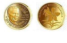 Nelson Mandela Paravanda 1oz Gold medallionIn safe custody with SA Gold Coin Exchange in Johannesburg. Still in original packaging and has never been opened, handled or exposed to the air.
