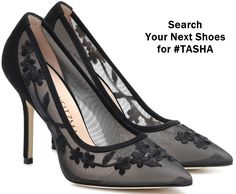 The Tasha pumps from Stuart Weitzman are crafted from sheer mesh with tonal floral embroidery. Made in Spain with an ultra-feminine silhouette, they arrive with sharply pointed toes and leather soles that ensure a comfortable stride. High End Shoes, High Heels, Highland Boots, Women's Shoes, Dress Shoes, Next Shoes, Popular Shoes, Shoe Company, Cool Boots