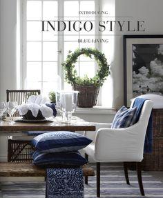 Stockholm Vitt - Interior Design: Indigo- Blue Living