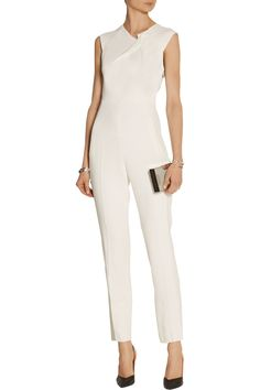 Shop on-sale Roland Mouret Buxton cutout stretch-crepe jumpsuit. Browse other discount designer Buxton cutout stretch-crepe jumpsuit & more on The Most Fashionable Fashion Outlet, THE OUTNET.COM