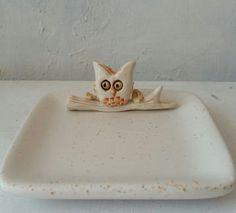 Baykuşlu Kare Tabak Soap, Dishes, Tablewares, Bar Soap, Soaps, Dish, Signs, Dinnerware