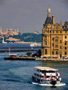 Nacar-ISTANBUL … _____________________________________________________ İstanbul -Haydarpaşa – Turhan Nacar – Join the world of pin Istanbul City, Istanbul Travel, Ankara, Honeymoon Spots, Hagia Sophia, Ottoman Empire, World Of Color, Beautiful Places To Visit, Go Kart