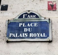 La place du Palais-Royal (Paris 75001)