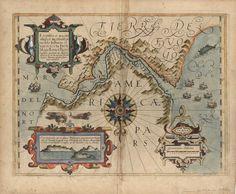 Tierra Del Fuego Argentina Chile Map 1611 (Straight of Magellan) on Etsy, $55.00