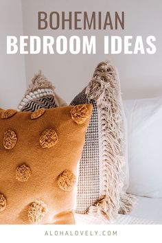Create the bohemian bedroom of your dreams. - boho style - boho bedroom decor - boho chic - bedroom ideas - bohemian bedroom decor - boho chic inspiration bedroom decoration - boho living room - bedroom diy #bohobedroom #bohochic #bedroomdecorideas Bohemian Bedroom Design, Bohemian Bedroom Decor, Boho Living Room, Living Room Bedroom, Boho Decor, Dream Master Bedroom, Boho Inspiration