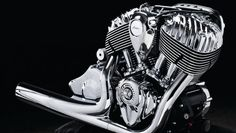 Indian Motorcycle broke wraps on its new Thunder Stroke 111 V-Twin at Daytona Bike Week the engine the first produced by Indian's new owner, Polaris Industries. Indian Motors, Gif Motos, American Motorcycles, Indian Motorcycles, Polaris Industries, Bike Magazine, Motorcycle Companies, Motorcycle Engine, Motorcycle News