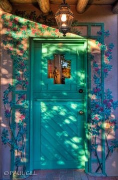 Love the doors and gates of Santa Fe.  Each has a story to tell just like Dragonfly's Native American Jewelry