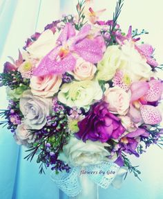 Wedding flowers in Chicago great area Florist in Arlington Heights, Palatine, IL phone: 224-409-3937  Flowers emotion by Geo Tudosescu Amazing Fresh Flowers Bohemian Style Bouquet