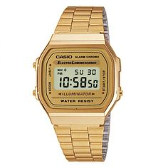Casio Retro digitalklocka A168WG-9