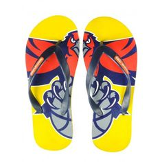 Buy Tangerine Toes Mens Yellow Sporty Flipflop