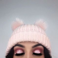 "I'm obsessing over pink, fluffy and glittery things  --- @anastasiabeverlyhills @norvina Dipbrow Pomade ""Granite"" ✨ @makeupgeekcosmetics Single Eyeshadows ""Tuscan Sun"", ""Cupcake"" & ""Bitten"" ✨ @makeupforeverofficial Star Lit Liquid ""02"" as a base on my eye lids ✨ @nyxcosmetics @nyxcosmeticsnordics Roll On Shimmer ""Salmon"" on top of the liquid ✨ @eyerisbeauty @wakeupandmakeup ""Cleopatra"" lashes ✨ #anastasiabeverlyhills #anastasiabrows #teamMUG #wakeupandmakeup"