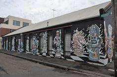 Fitzroy - Melbourne Chess Club Side Wall Fitzroy Street | Flickr: Intercambio de fotos /