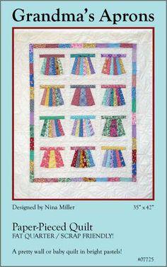 Grandmas Aprons Quilt Pattern