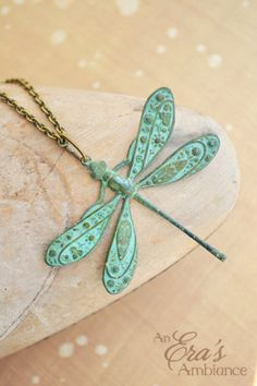 The Patina Collection - Enchanted Damsel Fly. $38.00, via Etsy.