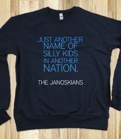 hi i love the janoskians