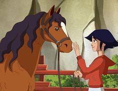 Résultat d'images pour pollyanna dessin anime episode 1 Le Ranch, Anime Episodes, Animation, Disney Characters, Fictional Characters, Aurora Sleeping Beauty, Horses, Disney Princess, Art Things