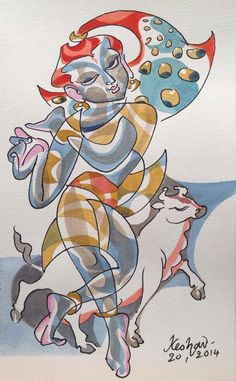 #Krishnafortoday Experiments with Krishna series.