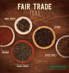Frontier Fair Trade Teas - on this fine work day, don't forget to make your mid-day cup of tea #FairTrade friendly!