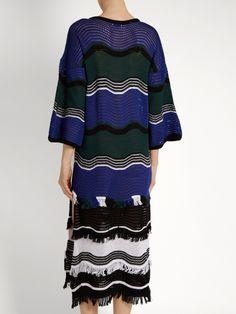 Click here to buy Fendi Wave-stripe crochet dress at MATCHESFASHION.COM