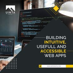 Custom web development for you to be found first! Uinta Digital is a leading web development agency that offers full-service web apps and website development services with design, implementation, QA, maintenance  migration.  #Customwebdevelopment #developmentagency #webdevelopmentcompany #webdevelopment #utah #developmentservices
