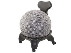 Balance Ball / Yoga Ball Cover: Black & White Tribal – By Global Groove Re-pinned by www.globalgroovelife.com