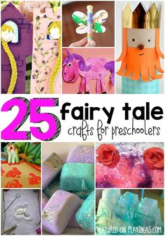 25 Fairy Tale Crafts for Preschoolers - Play Ideas