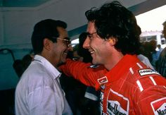 Le champion et son père, Milton. (photo tirée de