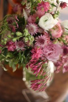 old fashion flowers