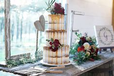 Three tier semi naked cake with drip; Dubai Wedding, Wedding Wear, Wedding Pics, Summer Wedding, Wedding Cakes, Elegant Bride, Beautiful Bride, Labor Day Wedding, Mon Cheri Bridal