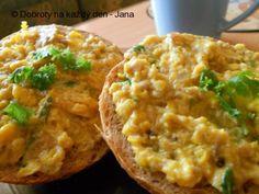 Recept Drožďová pomazánka  II., autor: Jana. Baked Potato, Bon Appetit, Ham, Baking, Homemade, Ethnic Recipes, Kitchen, Potatoes, Author
