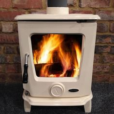 Heritage Ashford stove is a beautifully crafted black finished cast iron stove with a 7.5kW heat output, ideal for mid sized rooms. Bell: EST 1898.