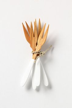 Two-Toned Cocktail Forks