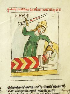 Speculum humanae salvationis, MS M.140 fol. 32v - Images from Medieval and Renaissance Manuscripts - The Morgan Library & Museum