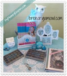 Getting ready for my {Origami Owl} Parties!