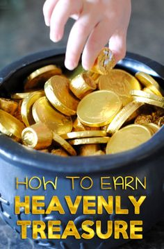 We love Adelle's Family Night ideas! See what today's Heavenly Treasure Hunt is all about. It includes a lesson and a craft all prepped for you!