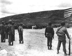 5. 12 juin 1944 - la sainte messe est célébrée à Omaha Beach