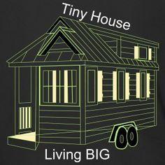 Tiny House Tiny Living the New Big Tiny Living, How To Raise Money, Tiny House, Men's Fashion, Sweatshirt, Architecture, House Styles, Big, Clothing