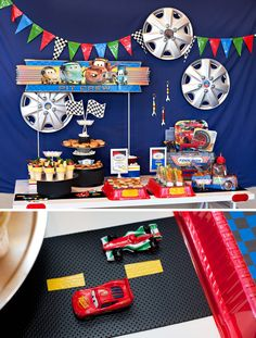 10 {Simple  Fun!} Disney Cars Party Food Ideas