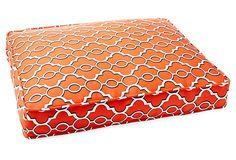 Printed Box Bed, Firebird on OneKingsLane.com