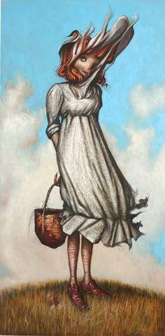 Esao Andrews - The Zombie #easeandrews #zombie #jonathanlevinegallery