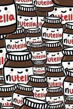 Bild über We Heart It https://weheartit.com/entry/163429892/via/4864967 #background #brownie #follow #food #love #nutella