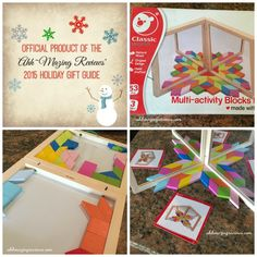 """@AhhMazingRvws Holiday Gift Guide Spotlight!  """"There are several reasons that I like our Magnetic Tangrams Travel toy: Portable, Challenging, Unique, Magnetic"""""""