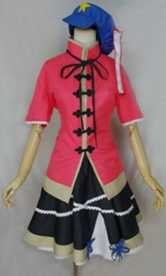 Relaxcos Touhou Project Miyako Yoshika Cosplay Costume- Made >>> Check out the image by visiting the link.
