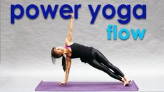Free yoga on YouTube! Power Yoga Workout ~Spring Recharge - #heartalchemyyoga