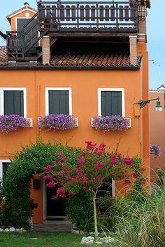 Burano, Italy by Petros Labrakos