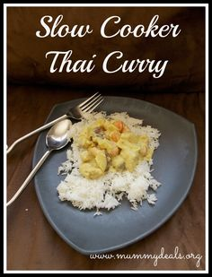 Slow Cooker Thai Cur