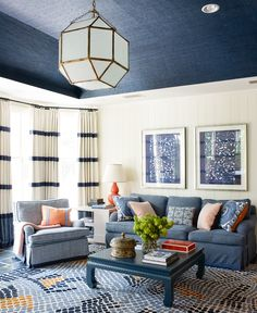 Portfolio | Lindsey Coral Harper Love the combo of navy and coral!